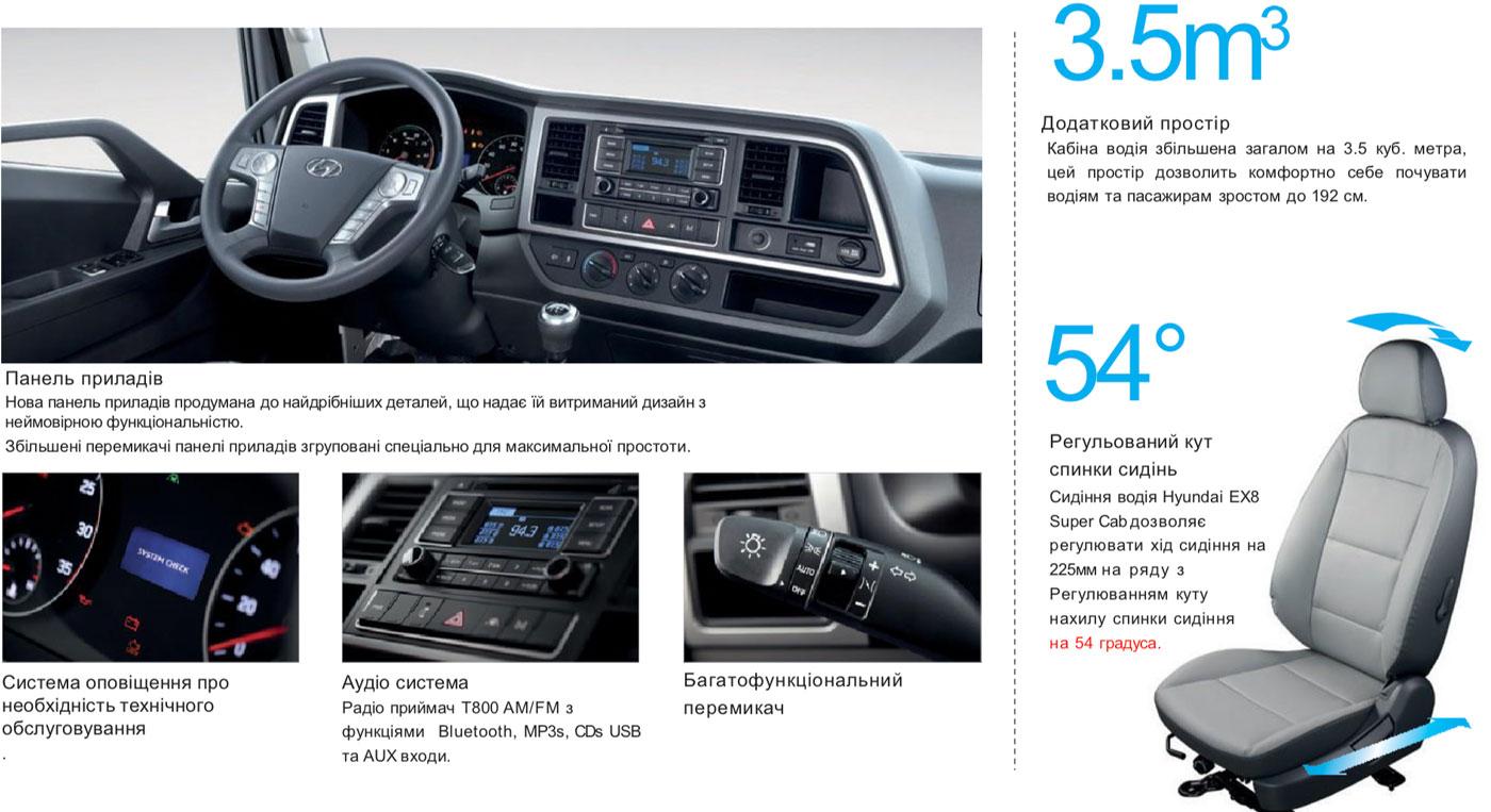 Hyundai EX8 кран маніпулятор