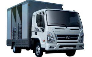Hyundai EX8 - ізотермічний фургон для перевезення напоїв