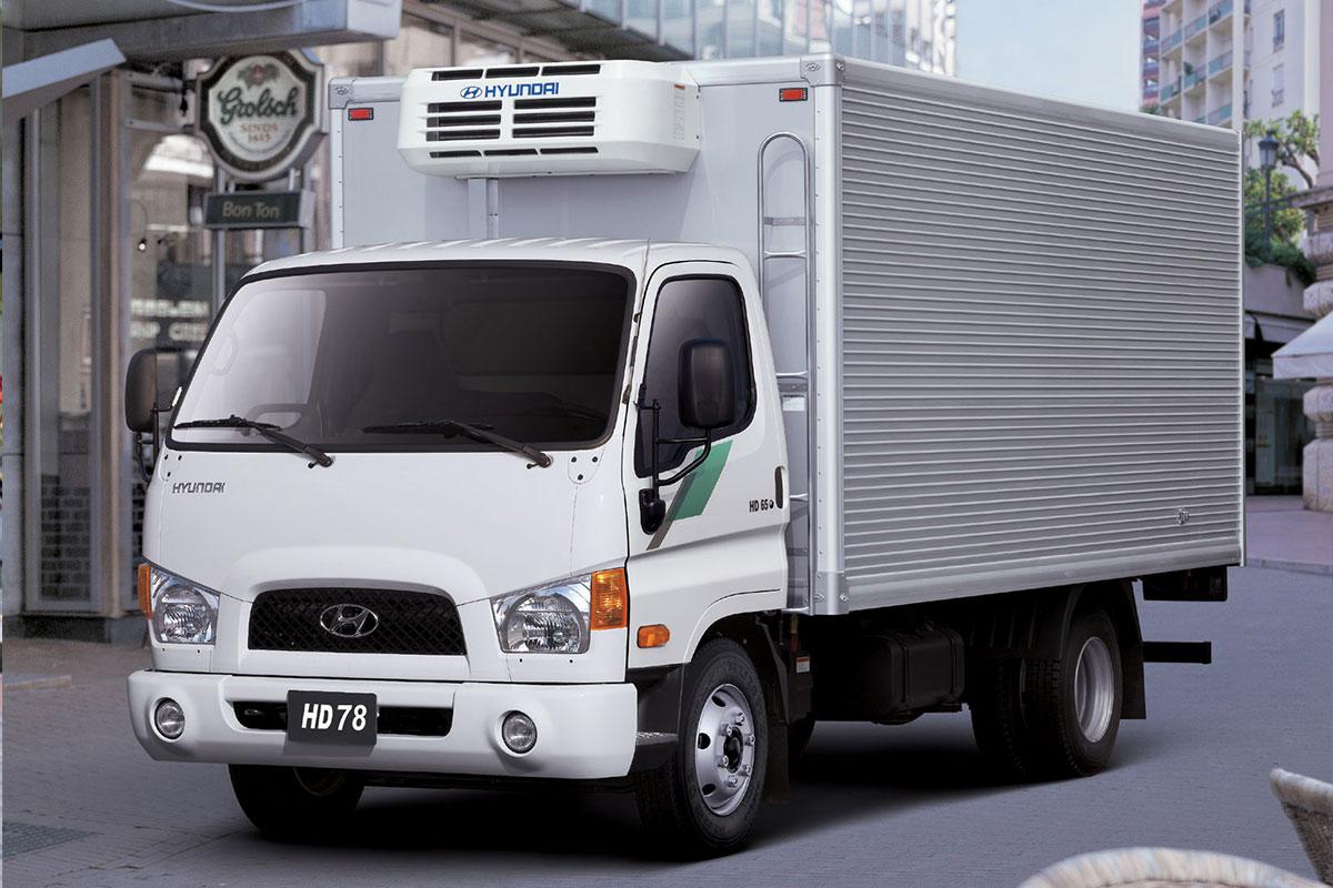Hyundai HD78 4WD