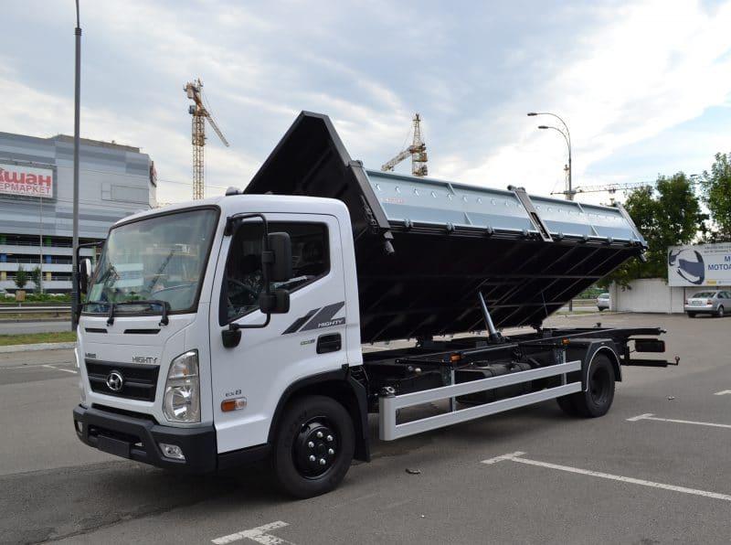 Hyundai EX8 - самоскид