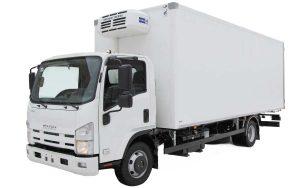 ISUZU NMR 85 фургон ізотермічний (наборні сендвіч-панелі)