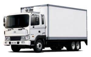 Hyundai HD210 isothermal wagon