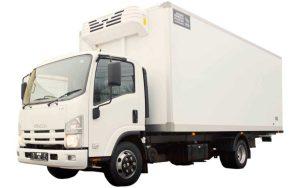 ISUZU NPR75L-K ізотермічний фургон