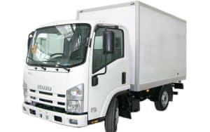 ISUZU NLR85A (ELF 3.5 S) изотермический фургон
