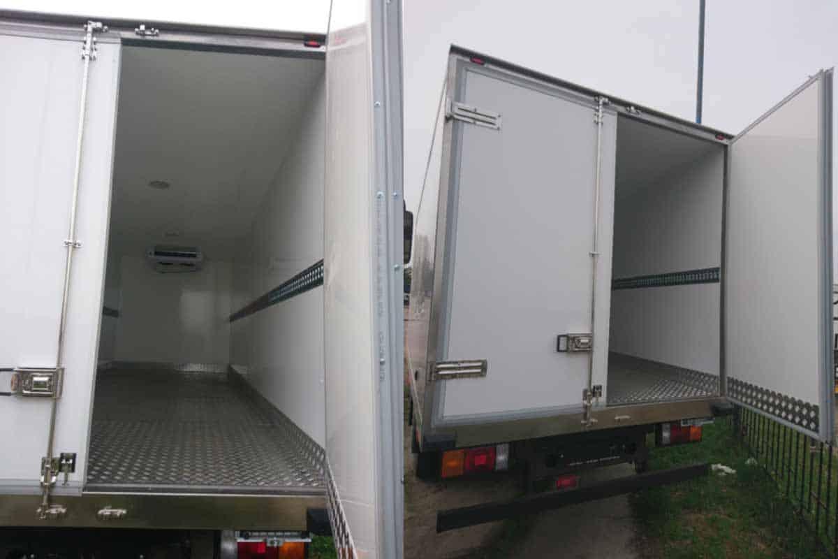 ISUZU NLR85A (ELF 3.5 S) промтоварний фургон