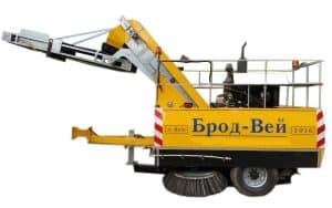 Причiпна пiдмiтально-прибиральна машина «Брод-Вей»