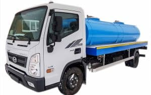 Hyundai EX8 - tanker for drinking water 5 cubic meters