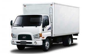 Hyundai HD78 промтоварный фургон