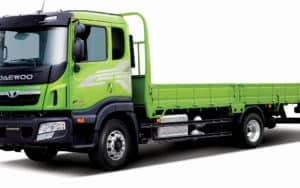 Daewoo Maximus SE среднетоннажные грузовые универсальные шасси