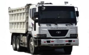 Daewoo Trucks Novus - самосвал