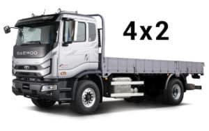 Daewoo Maximus 4x2 вантажне універсальне шасі