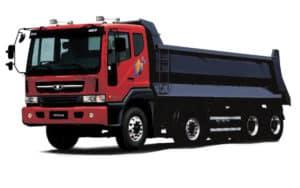 Daewoo Trucks Novus - самоскид 8x4
