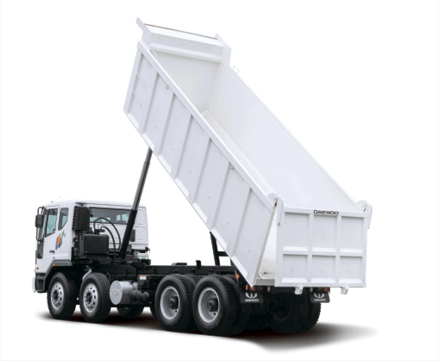 Daewoo Trucks Novus - самосвал 8x4
